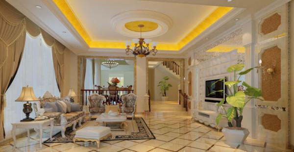 欧式的居室有的不只是豪华大气,更多的是惬意和浪漫。通过完美的典线,精益求精的细节处理,带给家人不尽的舒服触感,实际上和谐是欧式风格的最高境界