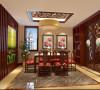 凤凰城200平米古典中式四居
