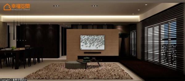 居家风格以日式、简约的设计符码,描绘整体空间的温度。 (此为3D合成示意图)