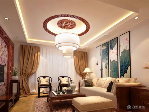 本案设计风格属于新中式,新中式是传统和现代的融合,同时整体空间处处渗透着中华文化的气息,也是人们对于生活回归的一种情愫。