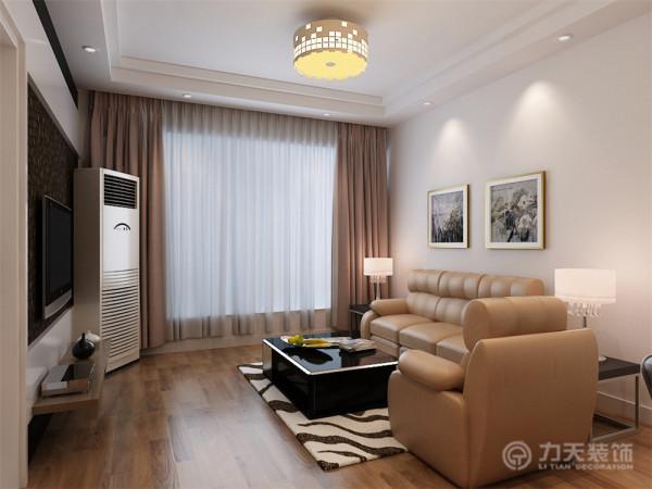 该户户型设计风格为简约户型,门厅的位置应业主的要求设计了独特的方块形的吊顶,增加了室内的现代简约的设计感。厕所因为空间比较狭小,而且没有窗户和室外光的照明,所以在设计时候应该加强卫生间的光亮度。