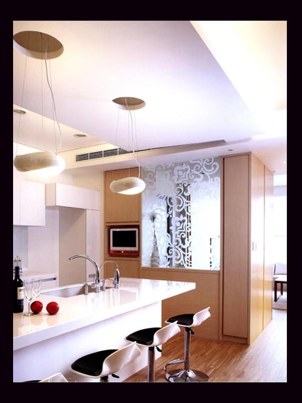 三居天润福溪大80后北欧今朝装饰新房装修厨房装修效果图片 装修美高清图片