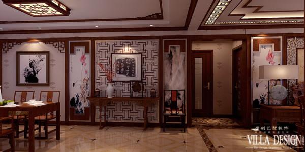 作为传统中式家居风格的现代生活理念,通过提取传统家居的精华元素和生活符号进程合理的搭配、布局,在整体的家居设计中既有中式家居的传统韵味又更多的符合了现代人居住的生活特点