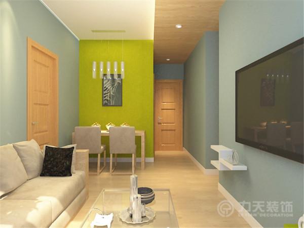 简约风格装修不仅注重居室的实用性,而且还体现了现代社会生活的精致与个性,非常符合现代人的生活品位凸显而且非常重视个性和创造性的表现特别符合两位业主的需求。