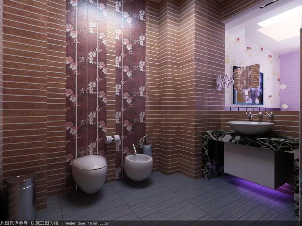卫生间的空间也经过了精心设计,虽不中规中矩,但多而生活的气息。