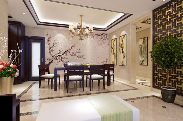 餐厅与餐厅造型交相呼应,使空间整体而不散乱、奢华而不繁杂。