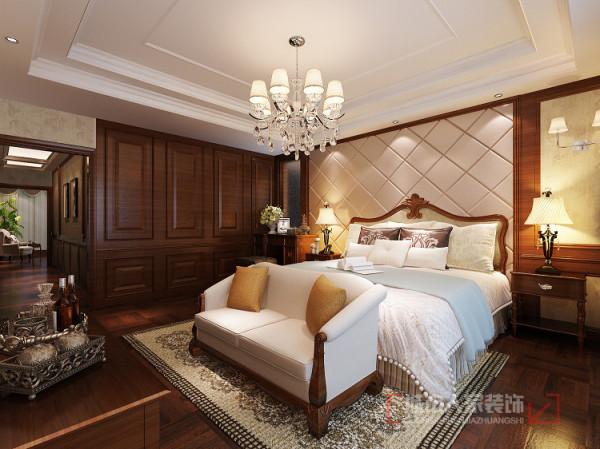 卧室多以欧式家具表现设计主题