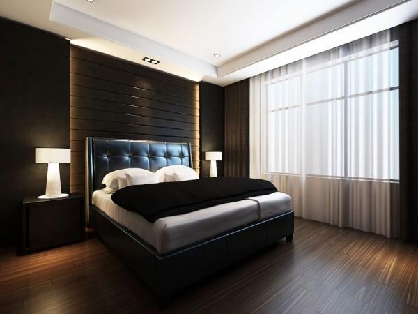 卧室设计的方向就是简约舒适,可以舒展身心,放松自我。