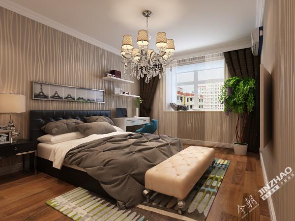 选材上也多取舒适、柔性、温馨的设计风格,条纹设计突出了现代感。