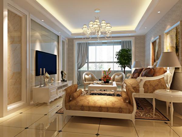 针对90平米这样面积的才用了业主喜欢的欧式风格,尽显低调奢华