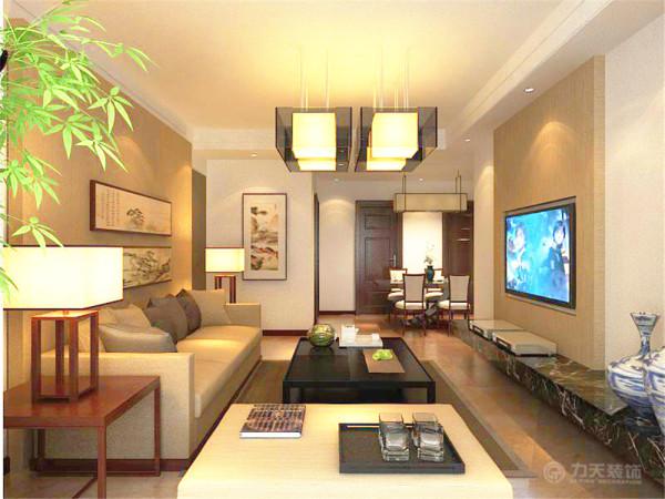本户型为2室2厅1卫1厨,整体布局合理,设计思路以简洁实用为主。