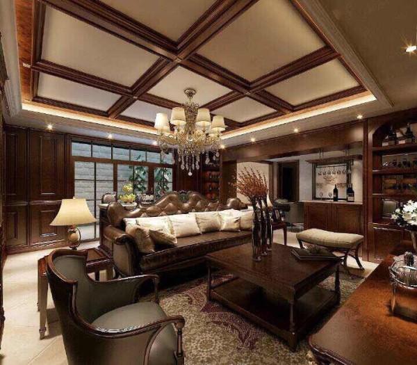 本案是保利·心语400平米新古典风格本作品。设计师用色很是大胆,暖色调情致风韵,同时加入了法式、美式元素等设计理念,酒店式的尊贵闲适充溢每个角落