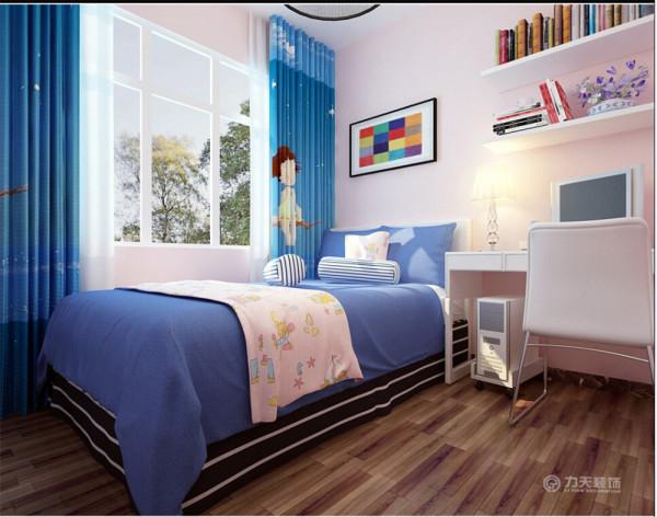 主卧室的色调为棕白色为主的暖色,搭配艺术挂画,为暖色的空间柔软亲切的感觉,造型优美的简约床,白色衣柜,让这个空间充满浪漫的生活气息。