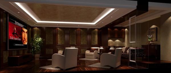 客厅的大部分处在挑空结构之下,大面积的玻璃窗带来了良好的采光,落地的窗帘很是气派。布艺沙发组合有着丝绒的质感以及流畅的木质曲线,将传统欧式家居的奢华与现代家居的实用性完美地结合