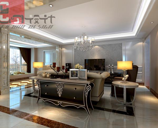用欧松板做墙面造型,白色混油工艺,洁白的木质体现高雅的气质。