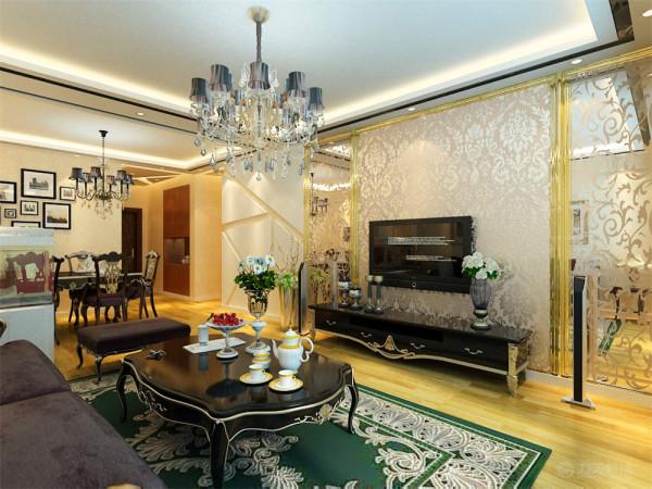 本案例为新汇华庭2室2厅1厨2卫87㎡的户型。 这次的设计风格定义为简欧风格。