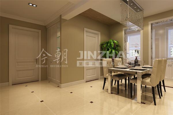 餐厅:家具简洁大方,显得更加轻盈优美。