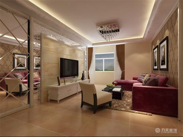 该户型童年河一期高层产品标准层A1户型2室2厅1卫1厨 98.00㎡,我设计的是一套简欧风格的作品。