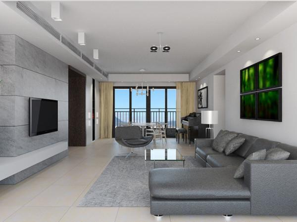 客厅与餐厅是整个在一个空间的格局。通过沙发背景墙等装饰,使整个家庭色调精彩。沙发墙运用乳胶漆配合照片墙的表现形式和各种装饰的表现形式,更加彰显业主的品味与内涵。