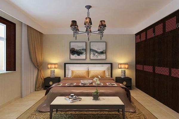 在简洁内敛的客厅中,中式回字格的纹饰点缀出整体风格图片