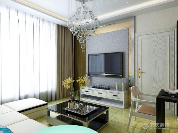 本案为融侨观邸高层标准层户型2室2厅1卫1厨61.2㎡,设计风格定义为现代风格。
