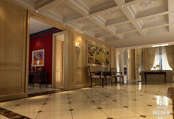 中西汇通打造雅致别墅空间设计——门厅