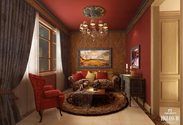中西汇通打造雅致别墅空间设计——小客厅