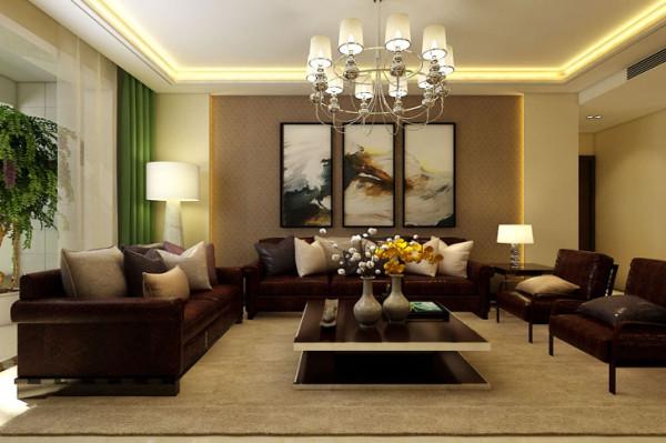 石家庄业之峰装饰-维多利亚154平米现代风格装修效果图