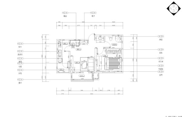 本方案是天房彩郡二期一期1-10号楼标准层A1户型图,1室1厅1卫1厨,其面积为65.89平米。设计风格为现代简约。这是当下一种比较流行的风格,现代风格外形简洁、功能强,强调室内空间形态的单一