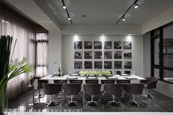 设计过程中的酸甜苦辣,也可以化为一桢桢的墙面装饰,在设计感外,更感温暖知性。