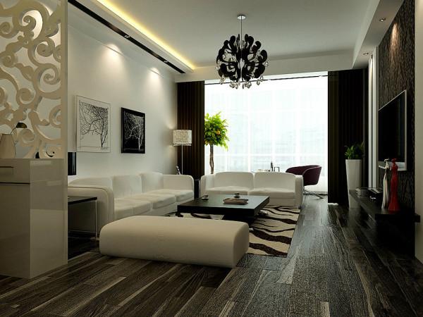 沙发墙运用挂画和各种装饰的表现形式,更加彰显业主的品味与内涵。