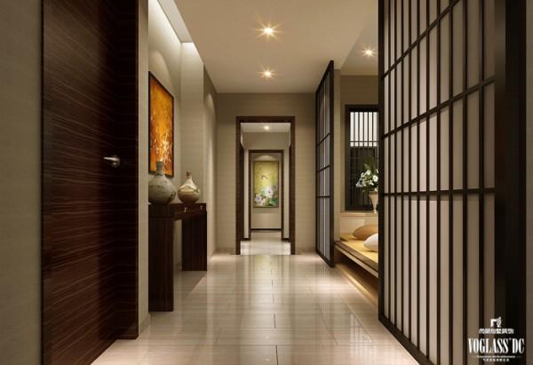 中式混搭高端别墅设计——榻榻米