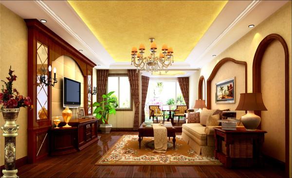 古典欧式的居室有的不只是豪华大气,更多的是惬意和浪漫。设计师通过 完美的典线,精益求精的细节处理,带给家人不尽的舒服触感。