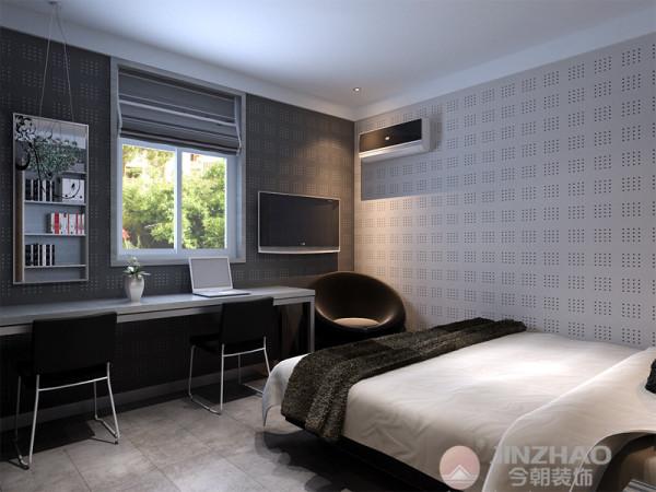 黑白灰是我给他进行搭配的,黑色的沙发餐椅,灰色的墙面,白色的顶面和餐桌,比例的合理利用,使客户家的品味大大提升。也把现代简约风格体现到最大化。