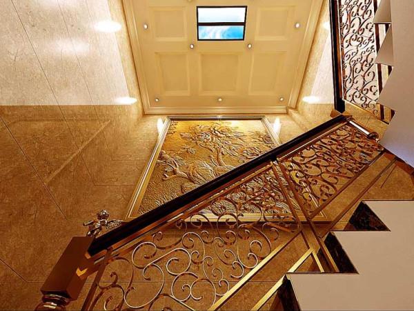 好房子就要装修好效果-棠溪人家-别墅装修-楼梯装修效果图