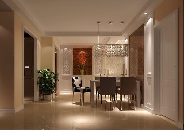 餐厅效果细节图 成都高度国际装饰设计