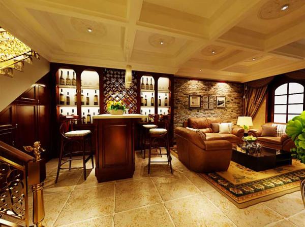 好房子就要装修好效果-棠溪人家-别墅装修-餐厅装修效果图