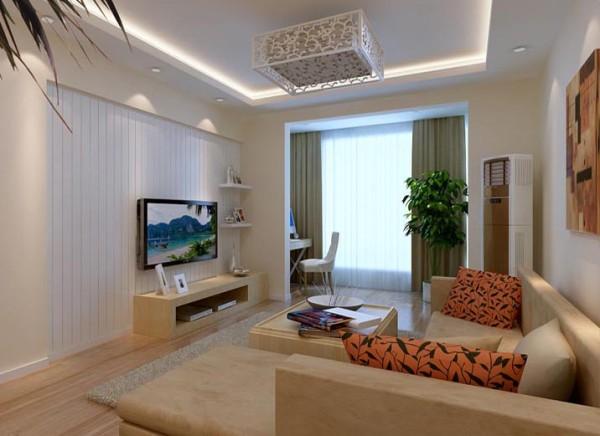 客厅入口处竖起豪华的罗马柱做欧式典型代表装饰,再配以拱形造型垭口图片