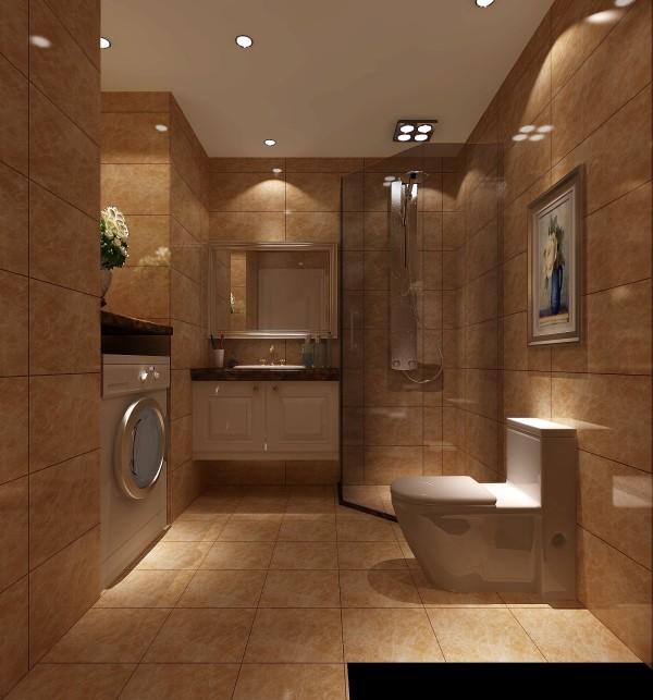 卫生间效果细节图 成都高度国际装饰设计