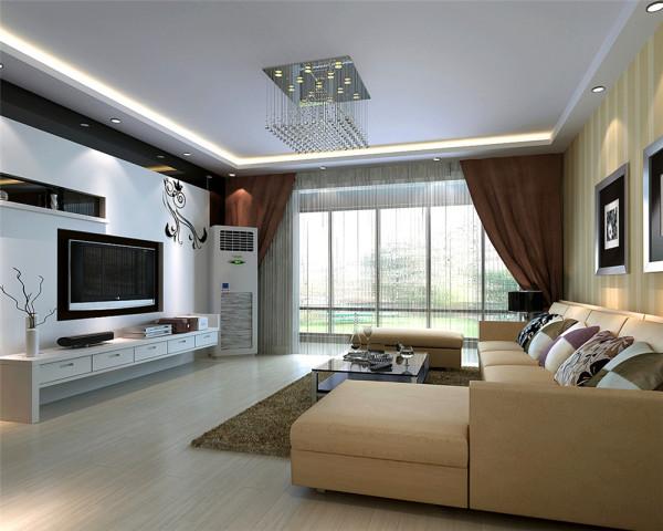 通过更为立体、多变的居住环境和对空间的细致分割,满足了对主人对住房不同功能的要求,也实现了功能的最大化、视觉的最大化。运用简洁的艺术造型,结合色彩、灯光效果、布艺等后期配饰来营造家的舒适和温馨的感觉。