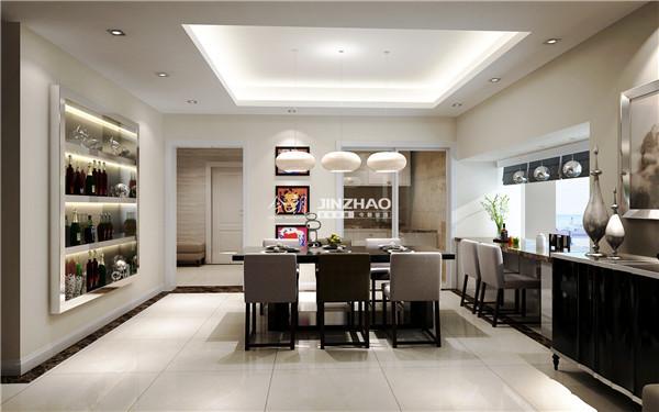 相对来说较大的空间给生活无限憧憬,墙面收纳柜的设置给生活更多的空间。