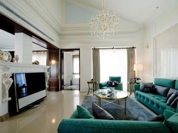 轻松度假休闲美式别墅装修设计