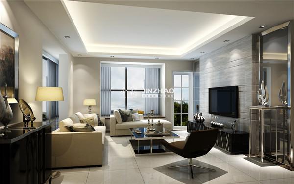 吊顶简单展现了一种质朴美,现代式的家具桌椅给生活更多潮流时尚。