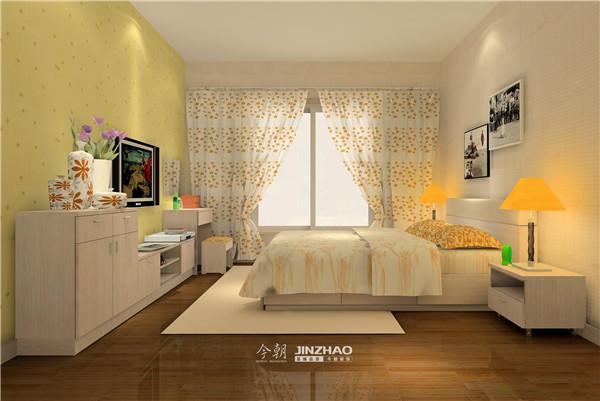 橙黄色的灯饰配上淡黄色的墙面,整体效果很是不错哦!!!