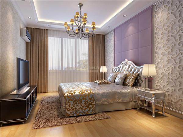 室内多采用带有图案的壁纸、地毯、窗帘、床罩、帐幔及古典装饰画,体现华丽的风格。