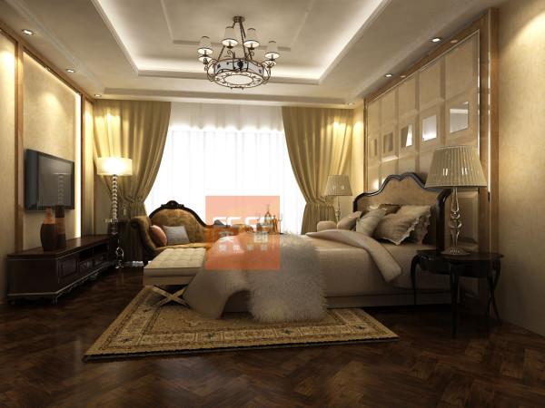 次卧不仅采用了许多古典的家具,也考虑了现代的许多元素,更像是一种多元化  的思考方式,将怀古的浪漫情怀与现代人对生活的需求相结合,兼容华贵典雅与  时尚现代,反映出后工业时代个性化的美学观点和文化品位。