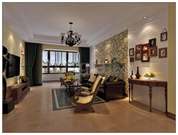 本案为地中海风格,集合了,欧式的浪漫,地中海黄褐的沉稳,以及现代的表现手法,为业主打造了一款极具个性,不失沉稳,梦幻浪漫的的家居环境!