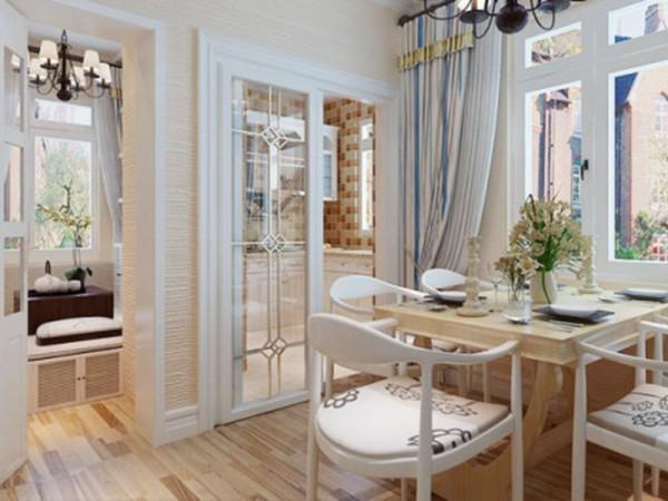 厨房落地门,是我的最爱,节省空间又是空间的通透性提高许多,靓丽的设计有没有很潮的感觉.