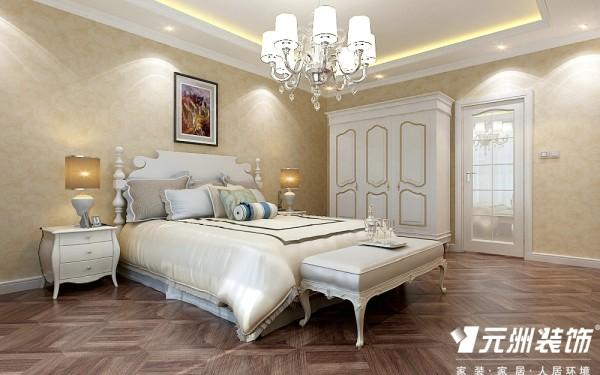 温馨的卧室不要做太多的造型在卧室。