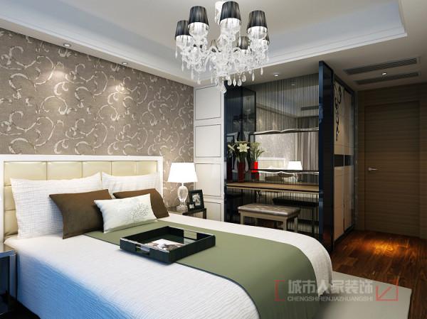 华宇凤凰城140㎡样板间--次卧室设计效果